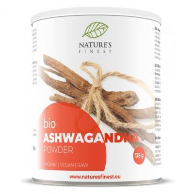 Ashwagandha Powder Bio 125g (Indický ženšen Bio)