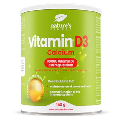 Vitamin D3 1000iu + Calcium 800mg 150g (Vitamín D3 + Vápník)