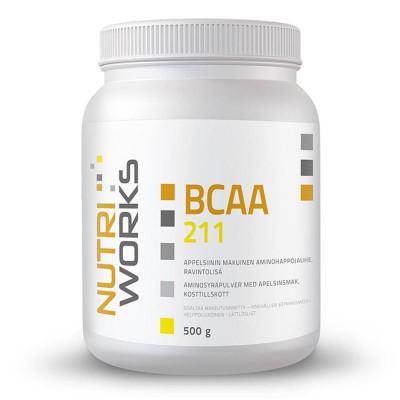 BCAA 2:1:1 500g pomeranč + Vitamin C 200g ZDARMA