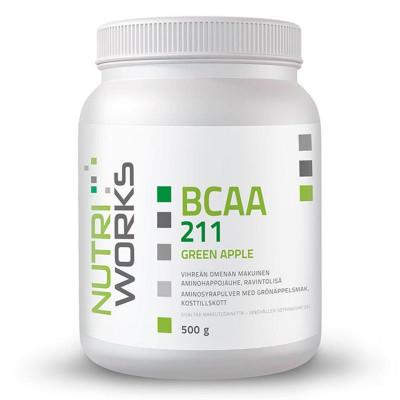 BCAA 2:1:1 500g zelené jablko + Vitamin C 200g ZDARMA