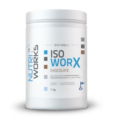 Iso Worx NEW FORMULA 1kg čokoláda + Vitamin C 200g ZDARMA