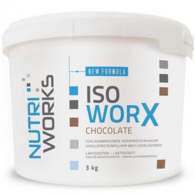 Iso Worx NEW FORMULA 3kg čokoláda + Vitamin C 200g ZDARMA