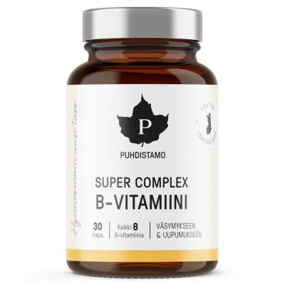 Super Vitamin B Complex 30 kapslí