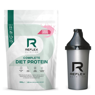 Complete Diet Protein 600g jahoda a malina