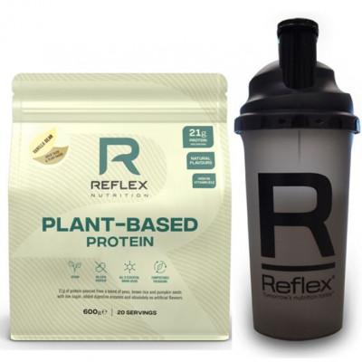 Plant Based Protein 600g vanilla bean + Šejkr 500ml ZDARMA