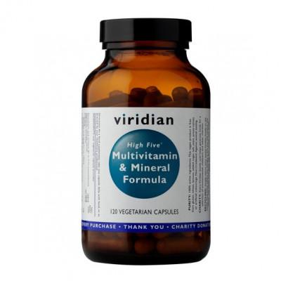 High Five Multivitamin and Mineral Formula 120 kapslí (Natural multivitamín pro každý den)