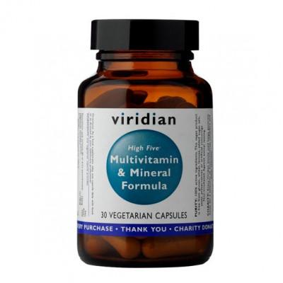 High Five Multivitamin and Mineral Formula 30 kapslí (Natural multivitamín pro každý den)