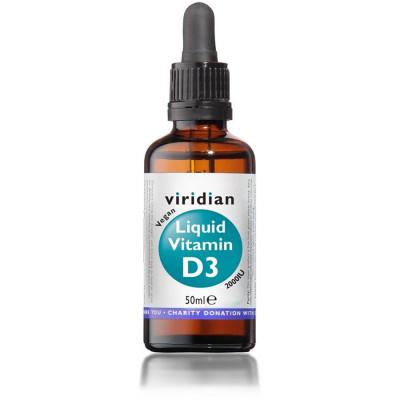 Liquid Vitamin D3 2000iu 50 ml