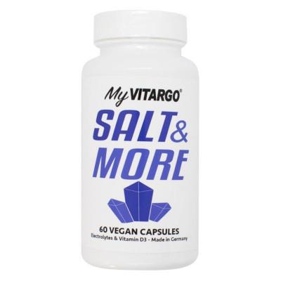 Salt and More 60 kapslí (Směs minerálů s vitamínem D3 a K2)