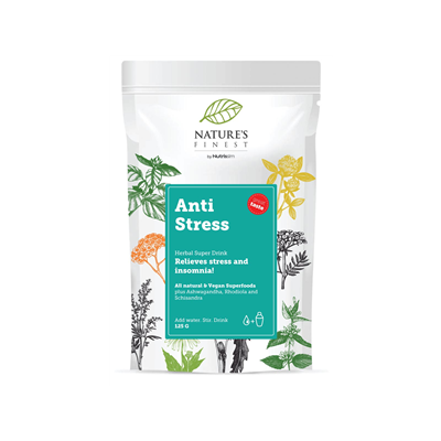 Anti Stress Super Drink 125g (Normální duševní kondice)