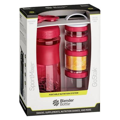 Sport Mixer® GoStak růžový