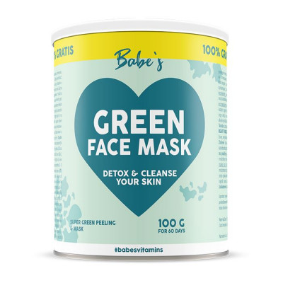 Babe's Green Face Mask