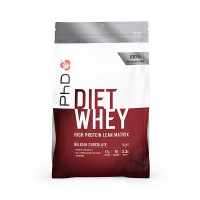 PhD Nutrition Diet Whey 1kg belgická čokoláda