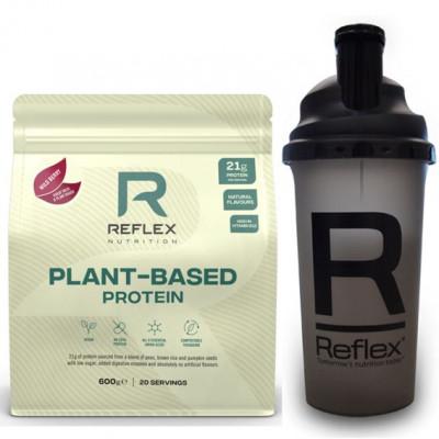 Plant Based Protein 600g wild berry + Šejkr 500ml ZDARMA