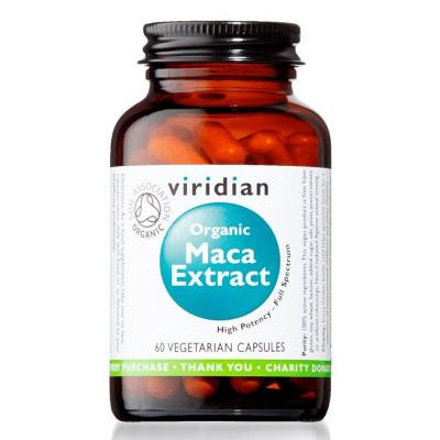 Maca Extract 60 kapslí Organic