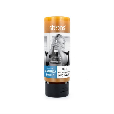 Steens RAW Manuka Honey 85+ MGO 340 g