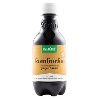 Purasana Kombucha BIO 330 ml ginger