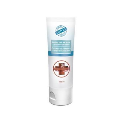 Topvet Antibakteriální gel na ruce - Divoká třešeň 100 ml