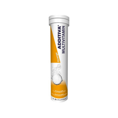 Additiva multivitamín + minerál orange 20 šumivých tablet