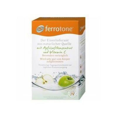 Ferrotone 100% přírodní zdroj železa +  jablko s...