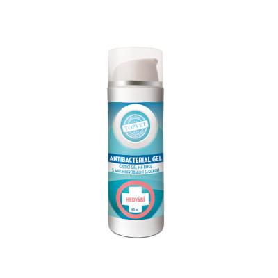 Topvet Antibakteriální gel na ruce - Hedvábí 50 ml