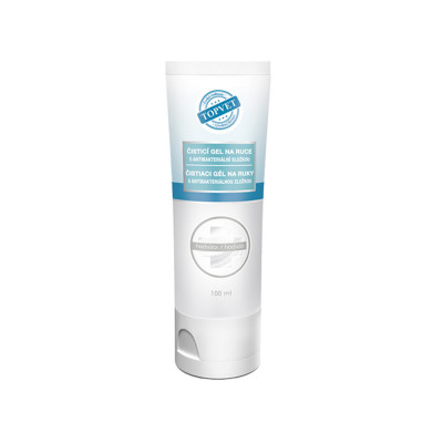 Topvet Antibakteriální gel na ruce - Hedvábí 100 ml