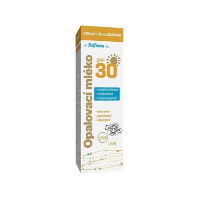 MedPharma Opalovací mléko SPF 30 230 ml