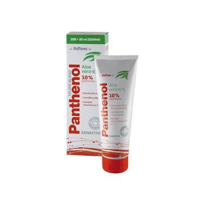 MedPharma Panthenol 10 % Sensitive tělové mléko s aloe...