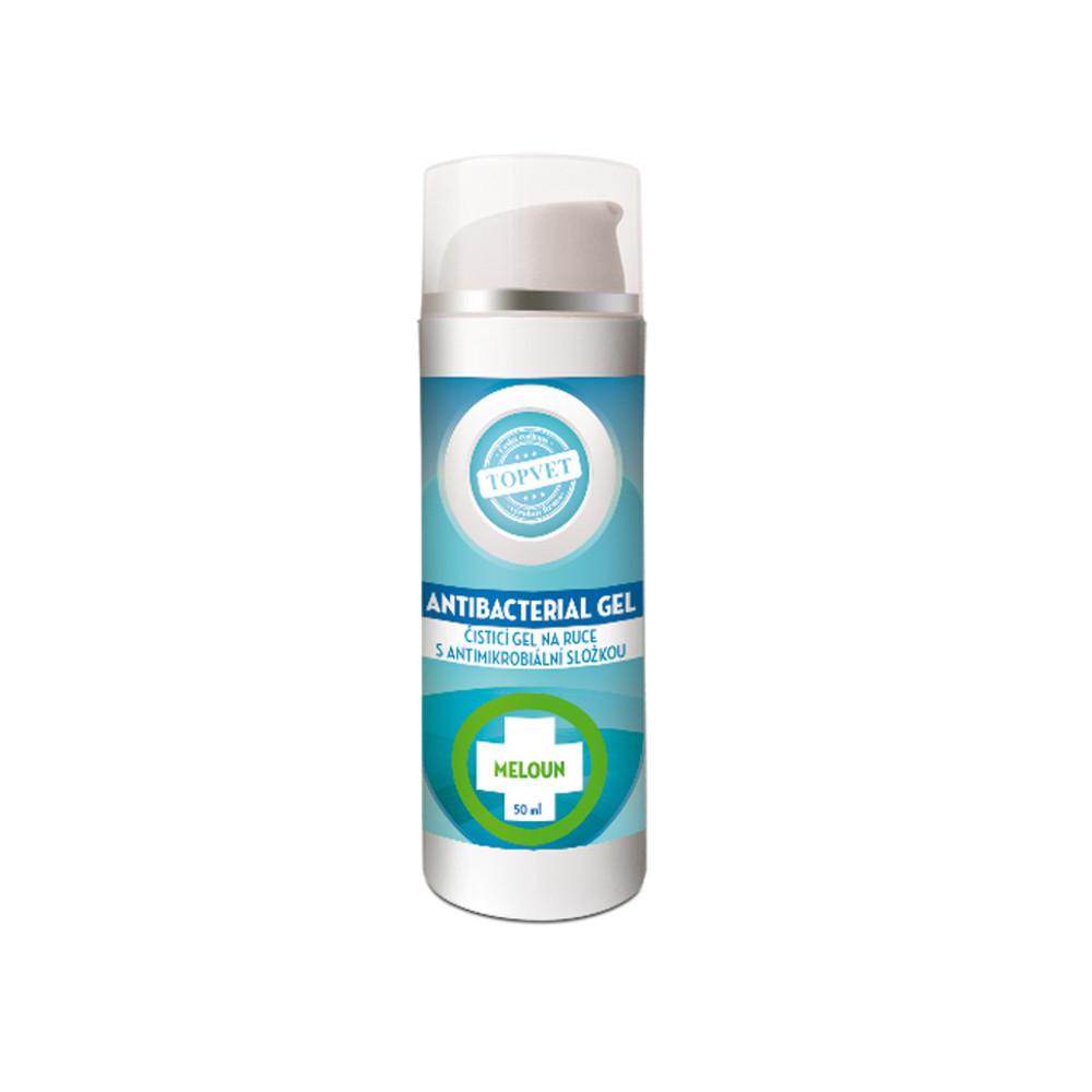 Topvet Antibakteriální gel na ruce - Meloun 50 ml