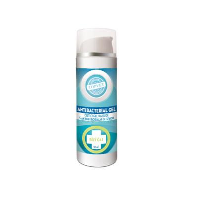 Topvet Antibakteriální gel na ruce - Bilý čaj 50 ml