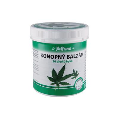 MedPharma Konopný balzám, 30 druhů bylin 250 ml