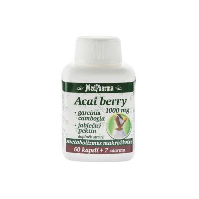 MedPharma Acai berry 1000 mg + garcinia cambogia +...