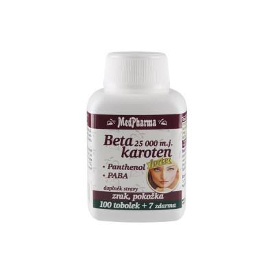 MedPharma Beta karoten 25.000 m. j. + panthenol + PABA...