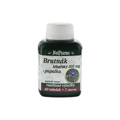 MedPharma Brutnák lékářský 205 mg + pupalka 67 tobolek