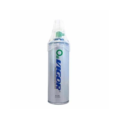 Vigor O2 inhalační kyslík v plechovce 8 l