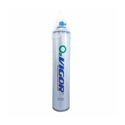 Vigor O2 inhalační kyslík v plechovce 12 l