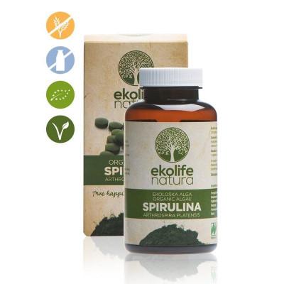 Algae Spirulina Organic 240 tablet (Bio řasa spirullina)